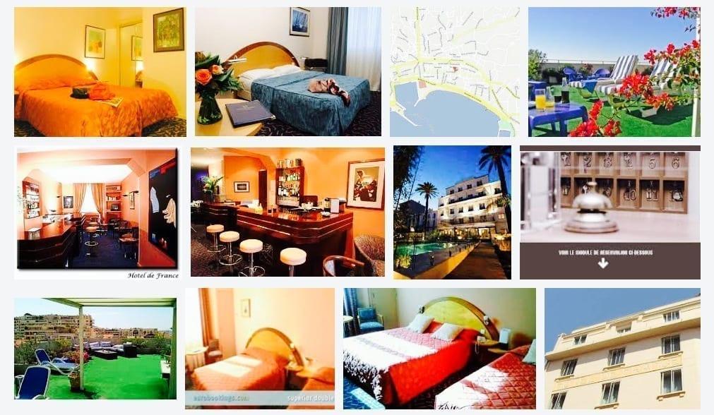France, Cannes, Hotel, Hotel de France