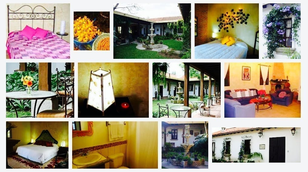 Guatemala, Antigua, Hotel, Hostal Las Marias