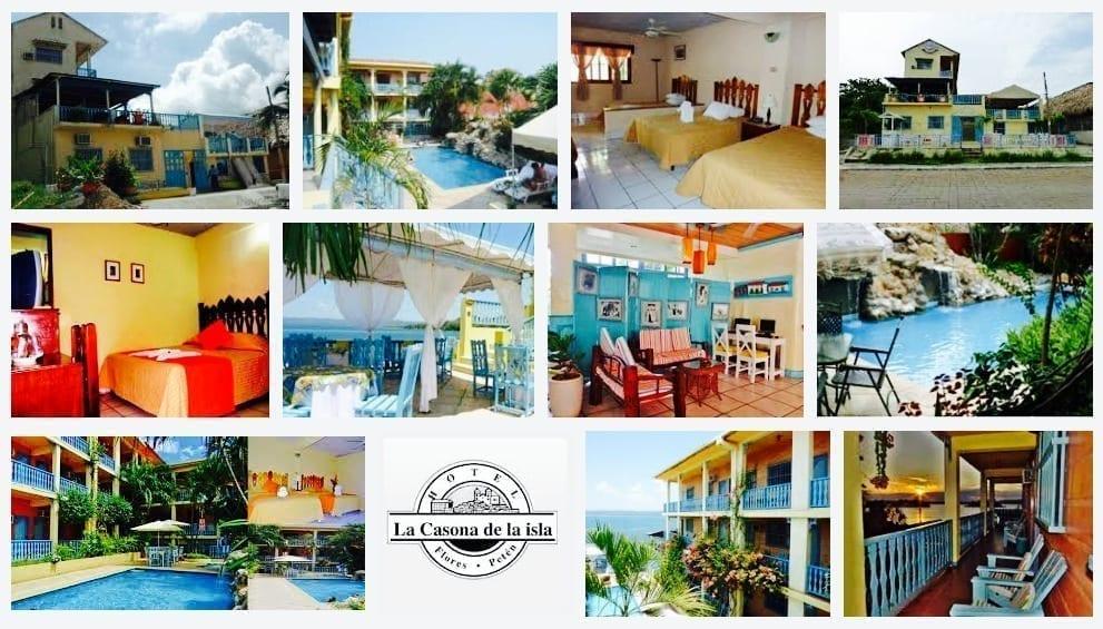 Guatemala, Flores, Hotel, Casona de la isla