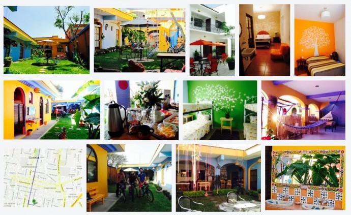 Mexico, Oaxaca, Hostel, Azul Cielo Hostel