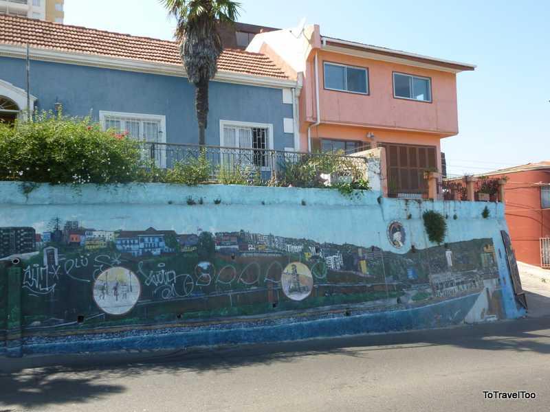 Street Art of Cerro Alegre Valparaiso