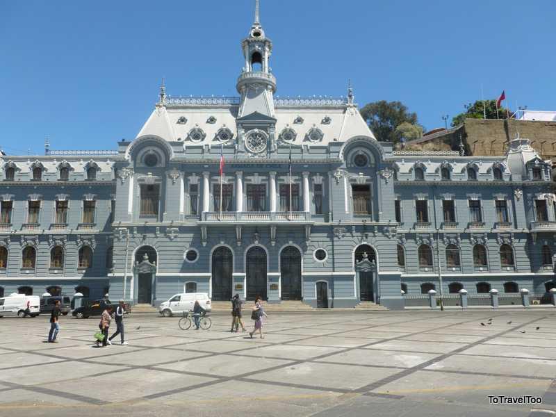 Armada de Chile Landmark Valparaiso