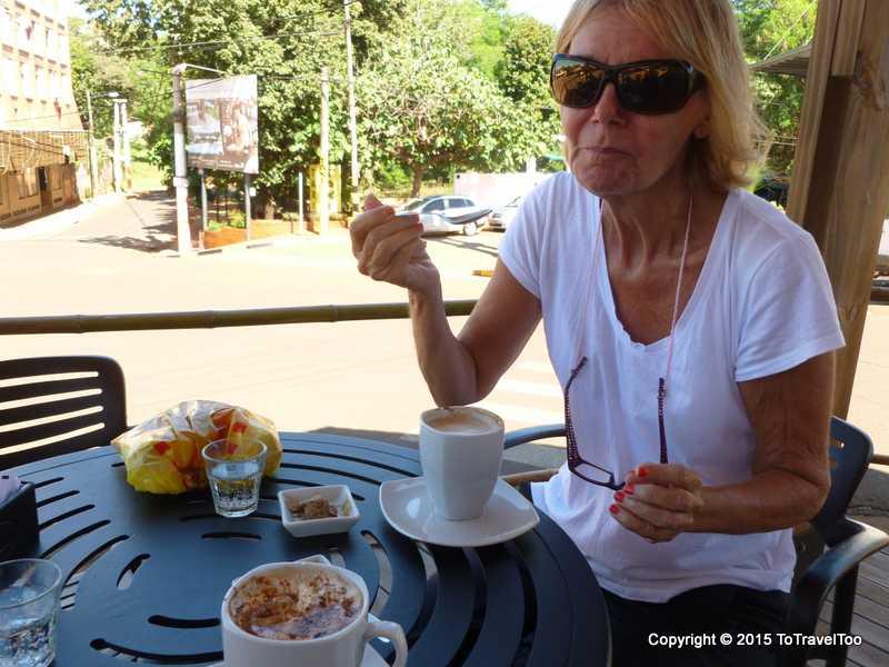 Coffee in Puerto Iguassu