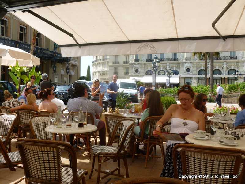 Coffee in Monaco, Monte Carlo
