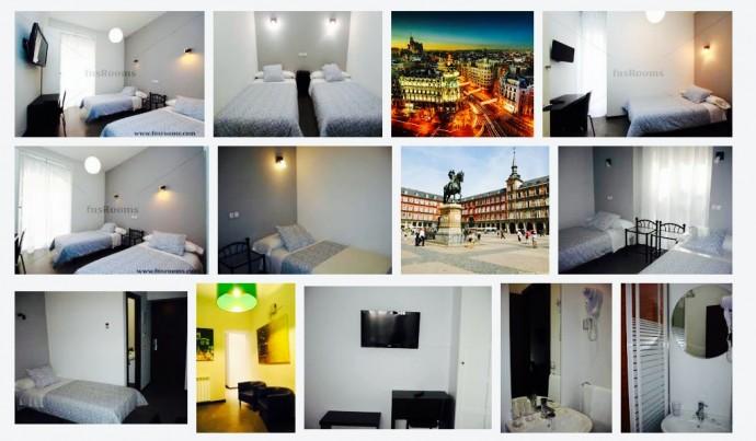 Spain, Madrid, Hostel, Hostal Cibeles Calle Barco
