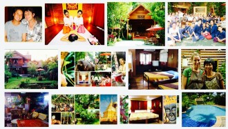Thailand, Chiang Mai, Bed and Breakfast, Joys Guest House