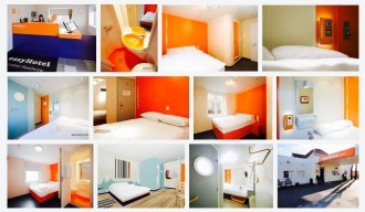 UK, London, Hotel, easyHotel Heathrow