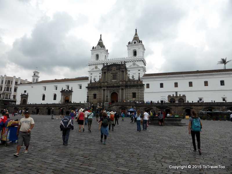Iglesia de San Francisco in Quito