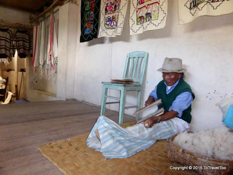 Ecuador, Otavalo 2 hours from Quito