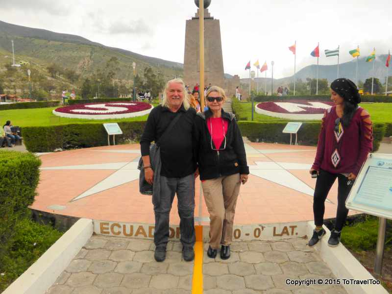 "Quito Ecuador, Mitad del Mundo, ""Center of the Earth"""