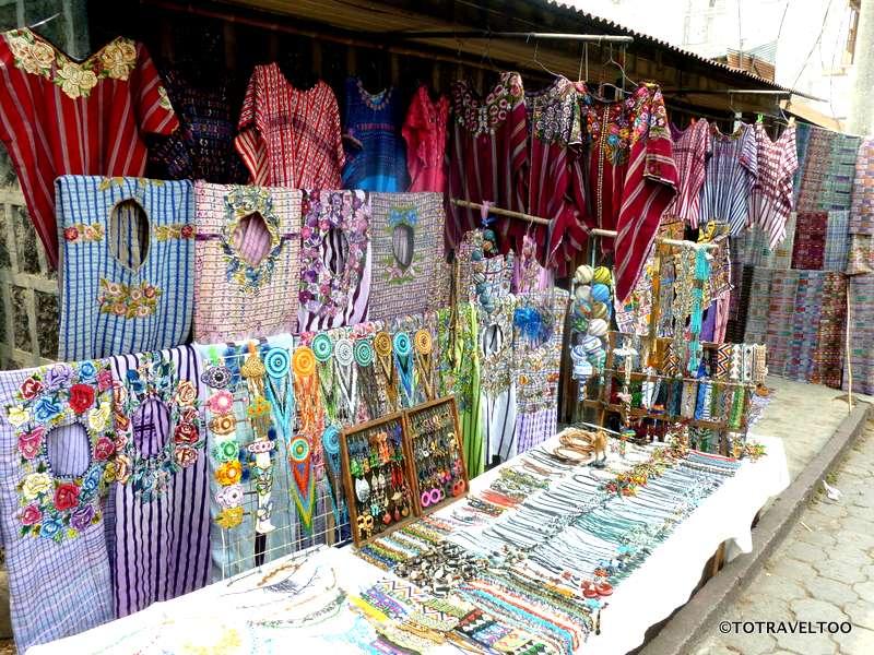 Lake Atitlan markets
