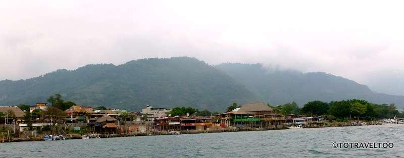 Coming back to the town of Panajachel on the banks of Lake Atitlan