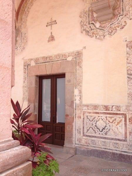 Interesting architecture around Queretaro