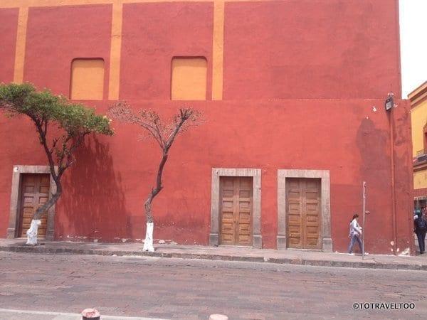 Queretero in Mexico colourful architecture