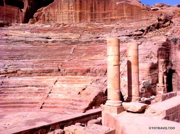 The Ampitheatre in Petra