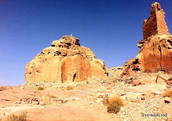 The High Palace of Sacrifice in Petra