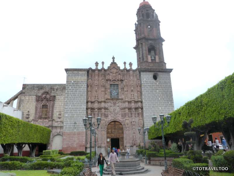 San Francisco Church San Miguel de Allende