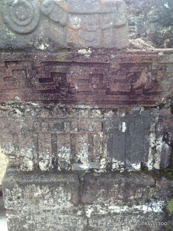 Aztec Inscriptions Can be Found All Over The Pyramid at Tepozteco