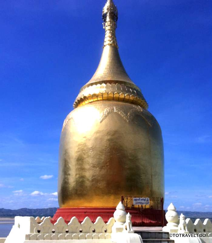 Bupaya Pagoda Bagan Myanmar