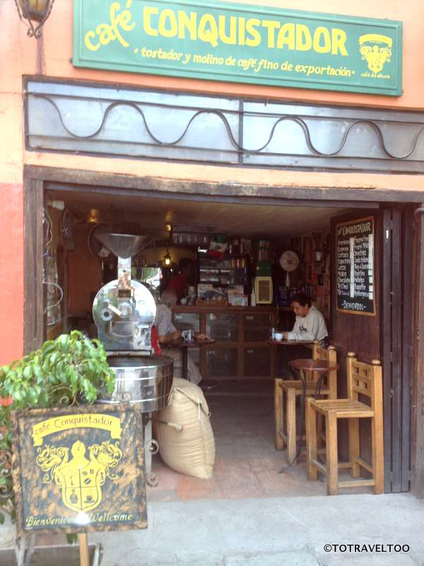 Our favourite Coffee Place in Guanajuato