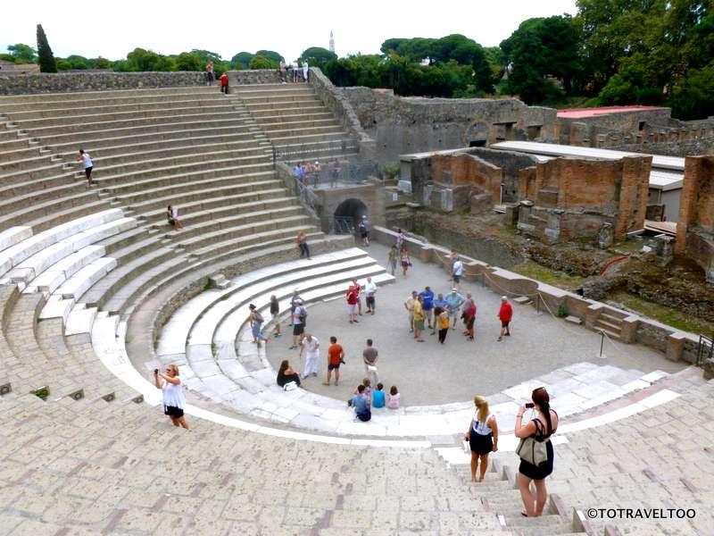 The Theatre of Pompeii