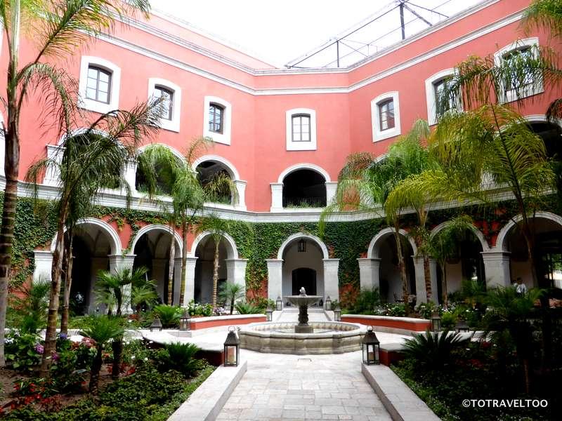 Rosewood Hotel in San Miguel de Allende Mexico