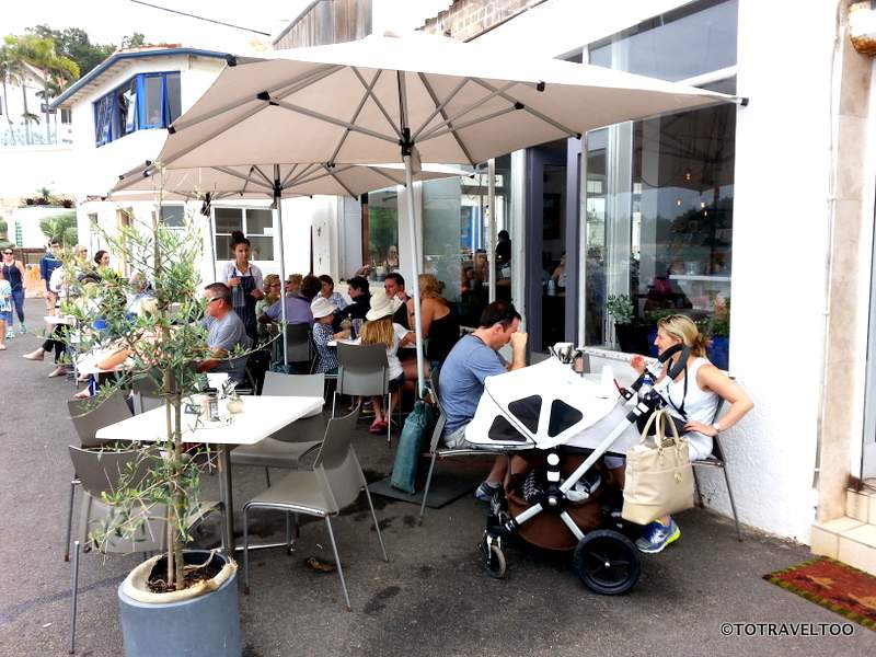 The Bower Restaurant at Fairy Bower near Manly
