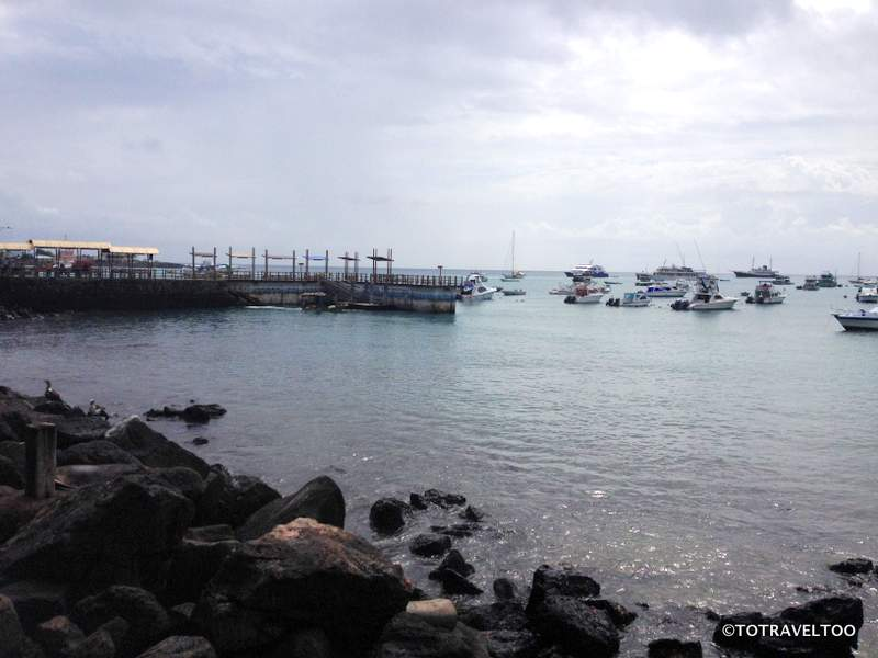 San Cristobal Harbour Front in the Galapagos Islands