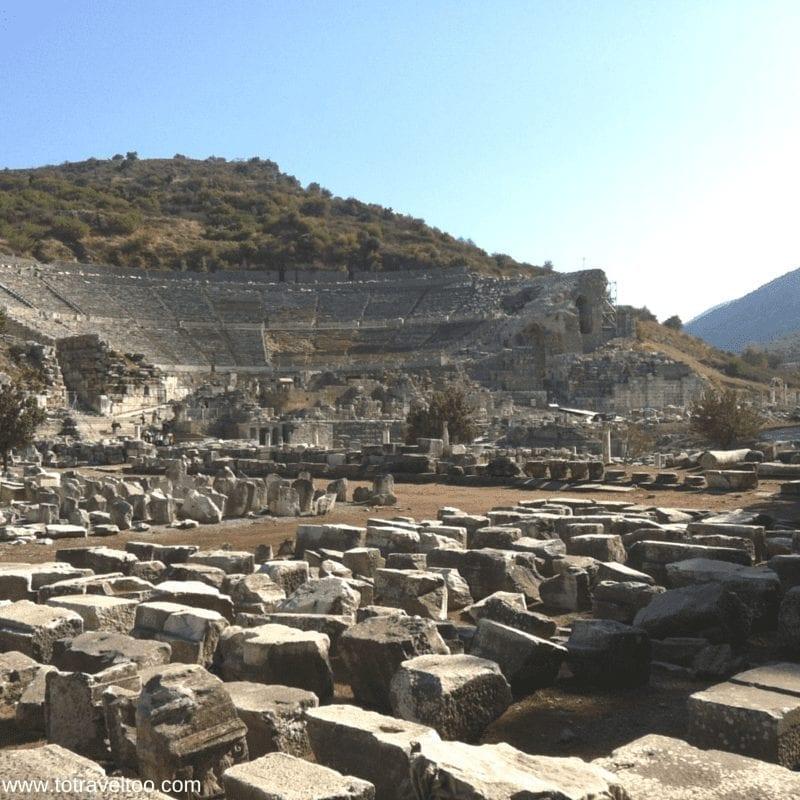The Gymnasium at Ephesus