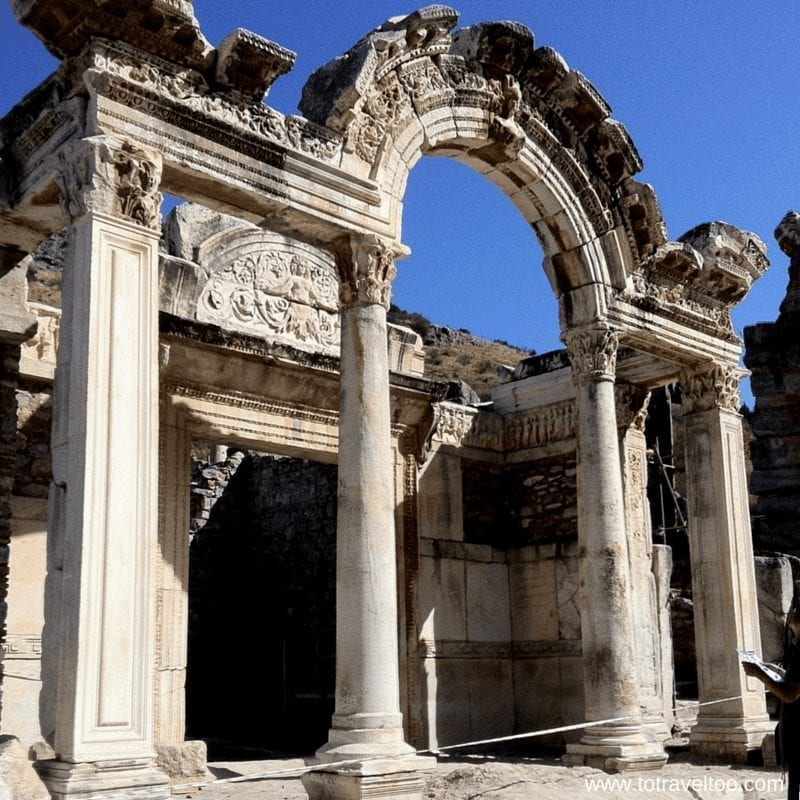 Hadrian's Temple Ephesus