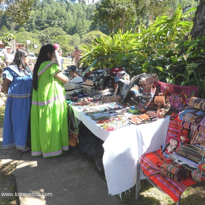 Tuesday Market Boquete in Panama