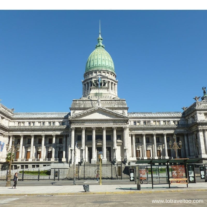 Avenue de Mayo Buenos Aires