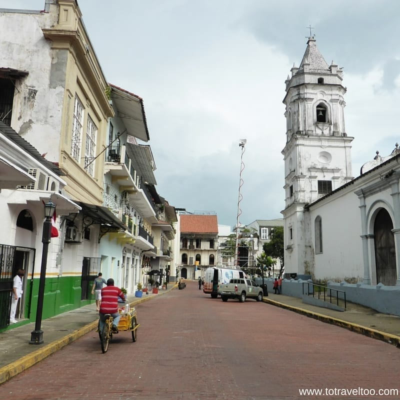 Streets of Casco Viejo