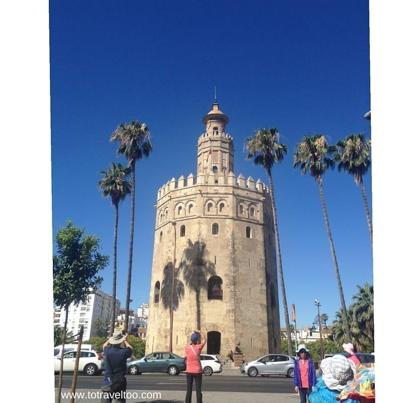 The Golden Tower of Seville