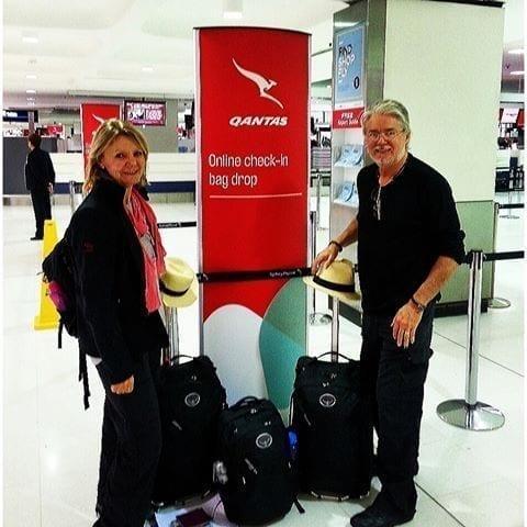 Our Osprey luggage