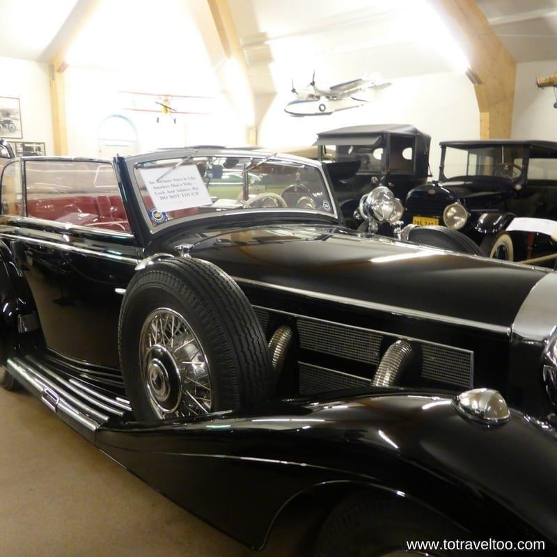 Sparreholm Castle Vintage Car Collection Sormland Region Sweden