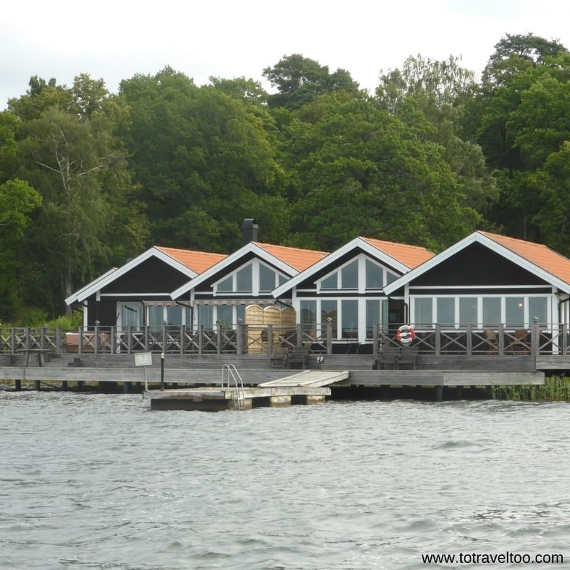 Sauna at Nasslingen Island Sweden