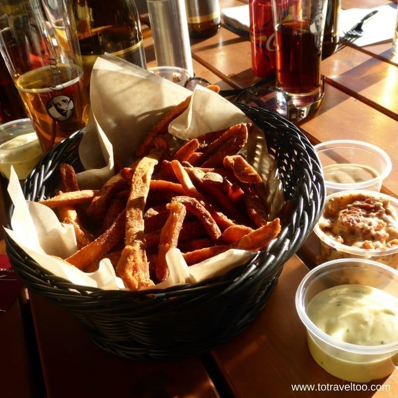 Vegetarian fast food in Sormland