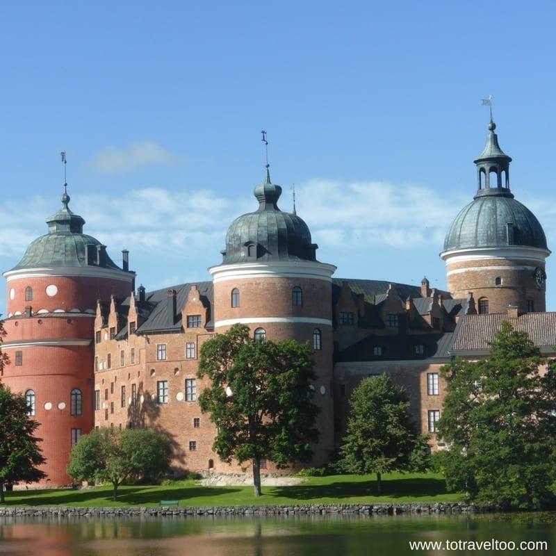 Gripsholm Castle Sormland Sweden