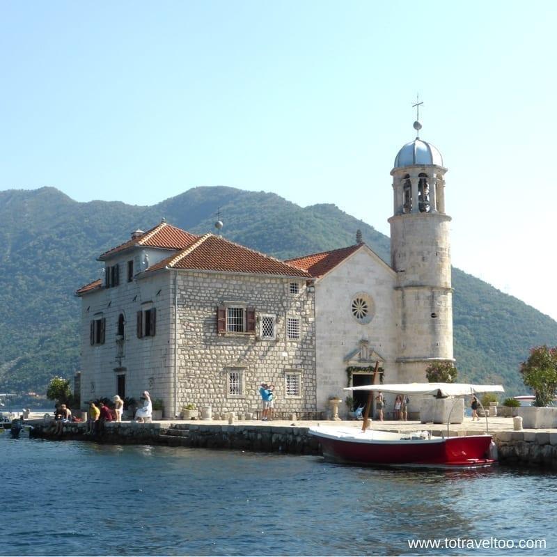 Kotor Bay Lady of the Rocks Montenegro