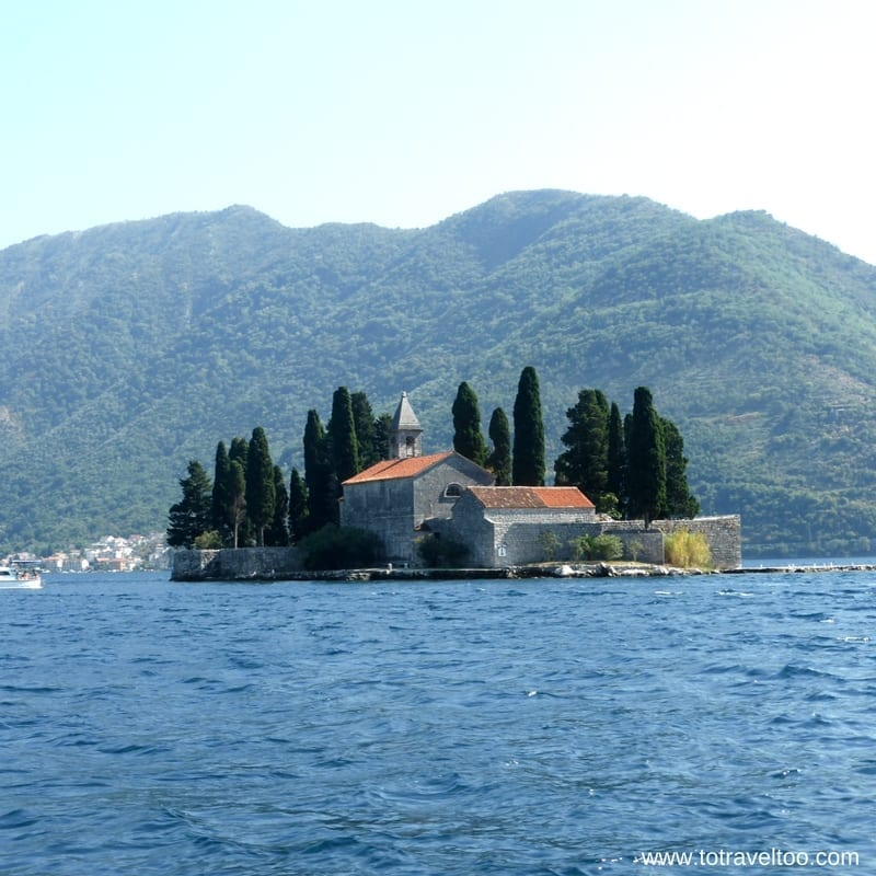 360Monte Tour Island of St George in Kotor Bay