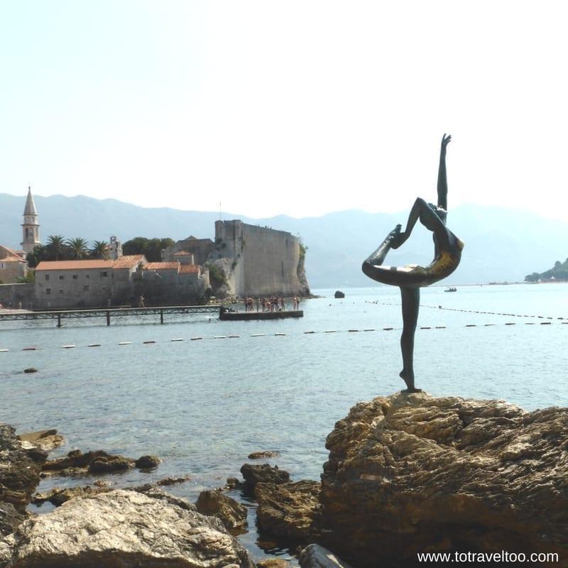 Budva Statue of the Dancing Girl