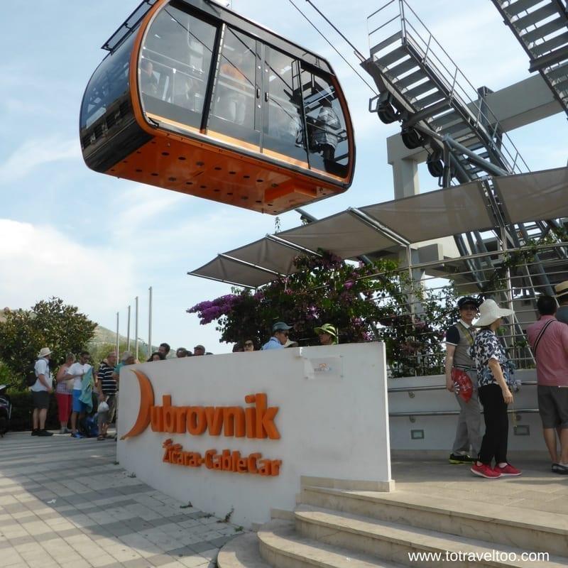 Cable Car Panorama Restaurant Dubrovnik