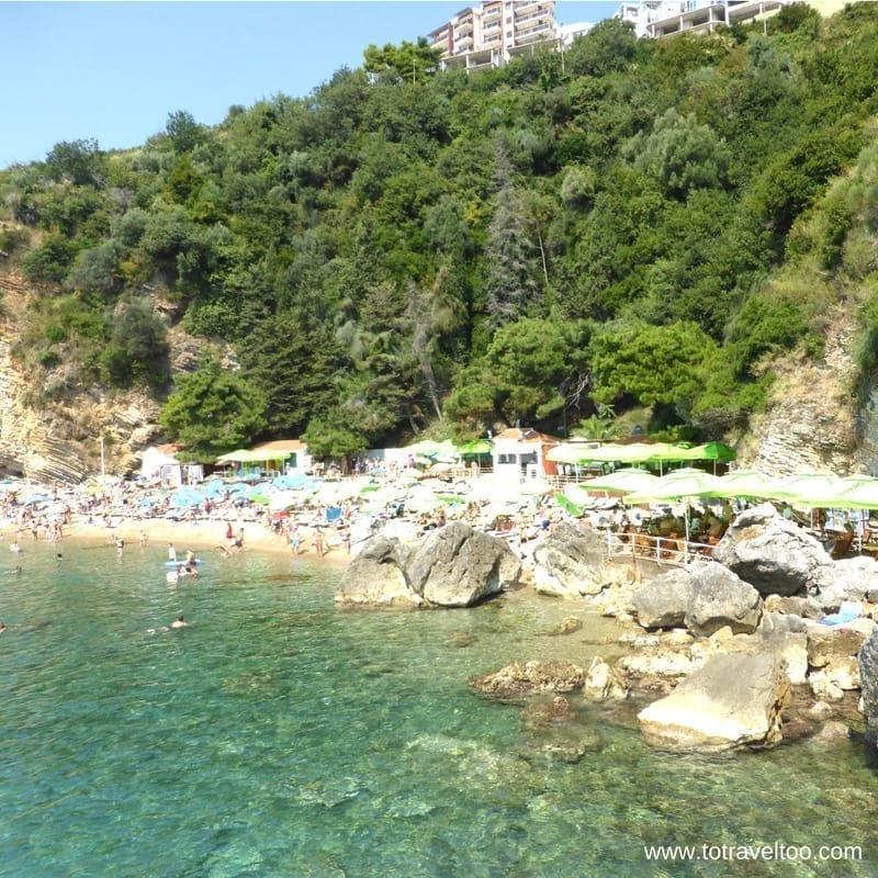 Mogren Beach Budva