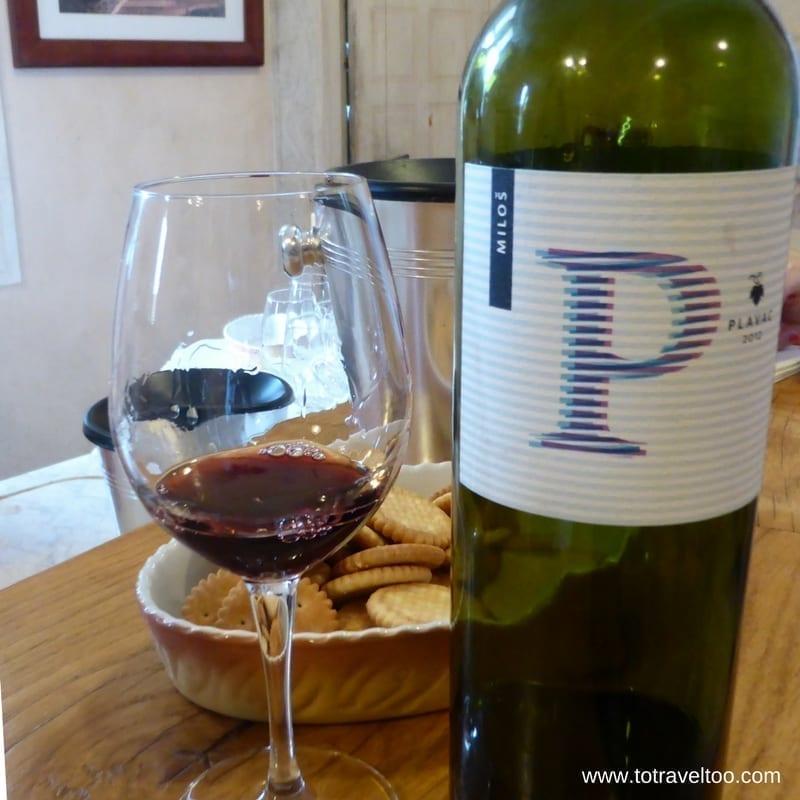 Croatian Wines Plavac 2012 Milos Winery