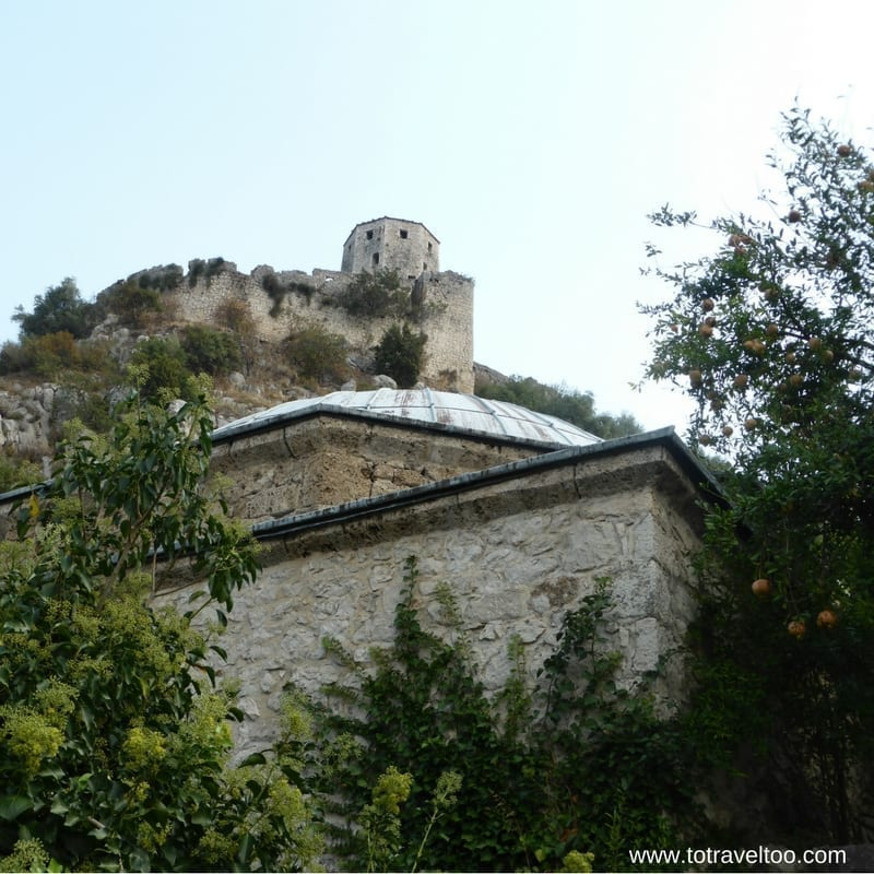 The Fort in Pocitelj in Bosnia