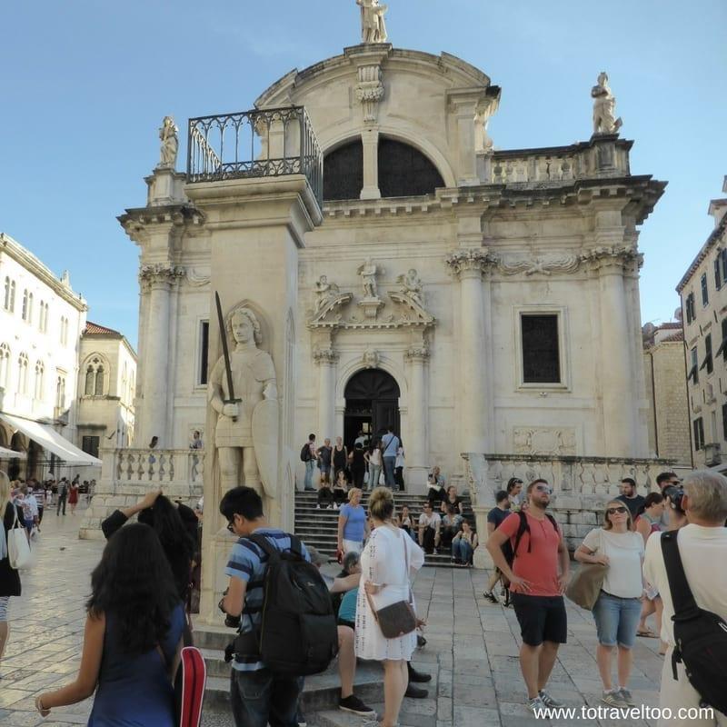 Dubrovnik Orlando's Column