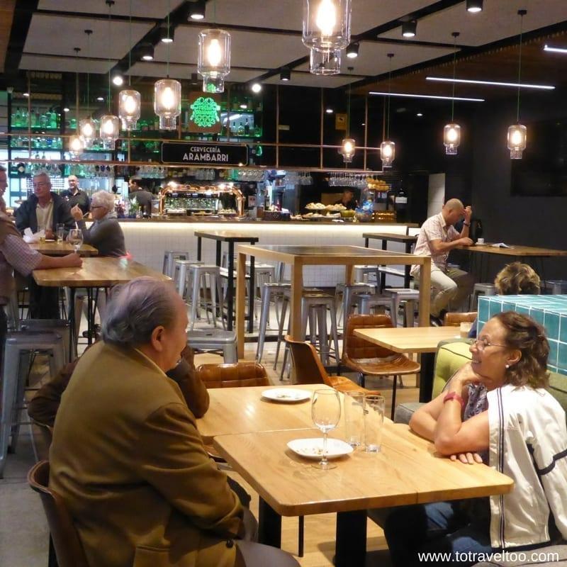 La Ribera Market Bilbao Spain
