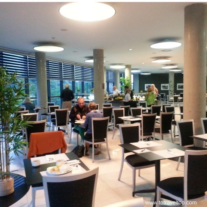 Hotel Gran Bilbao Breakfast