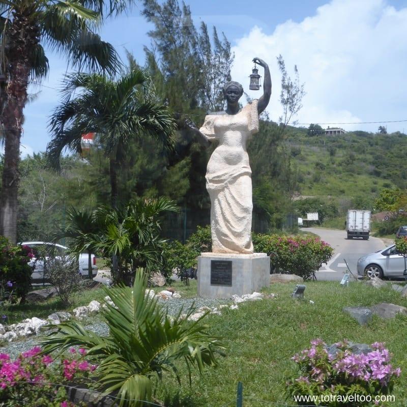 St Maarten Lady of Liberty